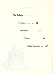 Page 6, 1956 Edition, Peace College - Lotus Yearbook (Raleigh, NC) online yearbook collection