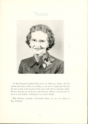 Page 9, 1956 Edition, Peace College - Lotus Yearbook (Raleigh, NC) online yearbook collection