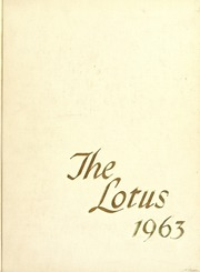 Page 1, 1963 Edition, Peace College - Lotus Yearbook (Raleigh, NC) online yearbook collection
