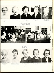 Page 17, 1963 Edition, Peace College - Lotus Yearbook (Raleigh, NC) online yearbook collection