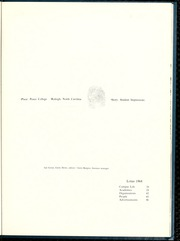 Page 5, 1968 Edition, Peace College - Lotus Yearbook (Raleigh, NC) online yearbook collection