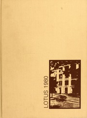 1980 Edition, Peace College - Lotus Yearbook (Raleigh, NC)