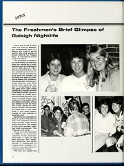 Page 12, 1984 Edition, Peace College - Lotus Yearbook (Raleigh, NC) online yearbook collection