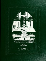 1985 Edition, Peace College - Lotus Yearbook (Raleigh, NC)