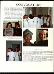 Page 16, 1988 Edition, Peace College - Lotus Yearbook (Raleigh, NC) online yearbook collection