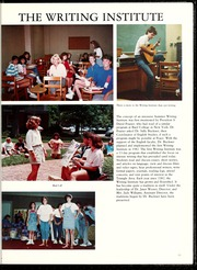 Page 17, 1988 Edition, Peace College - Lotus Yearbook (Raleigh, NC) online yearbook collection