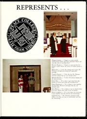 Page 9, 1988 Edition, Peace College - Lotus Yearbook (Raleigh, NC) online yearbook collection