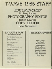 Page 6, 1985 Edition, Tulane University School of Medicine - T Wave Yearbook (New Orleans, LA) online yearbook collection