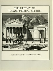 Page 9, 1985 Edition, Tulane University School of Medicine - T Wave Yearbook (New Orleans, LA) online yearbook collection