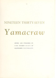 Page 7, 1937 Edition, Oglethorpe University - Yamacraw Yearbook (Atlanta, GA) online yearbook collection