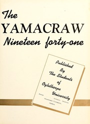 Page 7, 1941 Edition, Oglethorpe University - Yamacraw Yearbook (Atlanta, GA) online yearbook collection