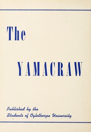 Page 8, 1943 Edition, Oglethorpe University - Yamacraw Yearbook (Atlanta, GA) online yearbook collection