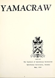 Page 5, 1947 Edition, Oglethorpe University - Yamacraw Yearbook (Atlanta, GA) online yearbook collection