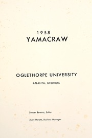 Page 5, 1958 Edition, Oglethorpe University - Yamacraw Yearbook (Atlanta, GA) online yearbook collection
