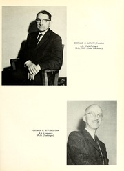 Page 17, 1960 Edition, Oglethorpe University - Yamacraw Yearbook (Atlanta, GA) online yearbook collection