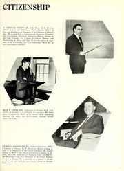 Page 21, 1962 Edition, Oglethorpe University - Yamacraw Yearbook (Atlanta, GA) online yearbook collection