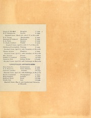 Page 5, 1912 Edition, Maryville College - Chilhowean Yearbook (Maryville, TN) online yearbook collection