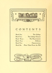 Page 12, 1920 Edition, Maryville College - Chilhowean Yearbook (Maryville, TN) online yearbook collection