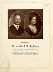 Page 9, 1922 Edition, Maryville College - Chilhowean Yearbook (Maryville, TN) online yearbook collection