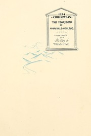 Page 7, 1924 Edition, Maryville College - Chilhowean Yearbook (Maryville, TN) online yearbook collection