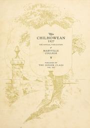 Page 7, 1927 Edition, Maryville College - Chilhowean Yearbook (Maryville, TN) online yearbook collection