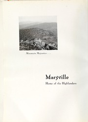 Page 12, 1937 Edition, Maryville College - Chilhowean Yearbook (Maryville, TN) online yearbook collection