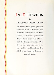 Page 8, 1937 Edition, Maryville College - Chilhowean Yearbook (Maryville, TN) online yearbook collection