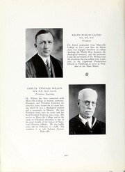 Page 16, 1938 Edition, Maryville College - Chilhowean Yearbook (Maryville, TN) online yearbook collection