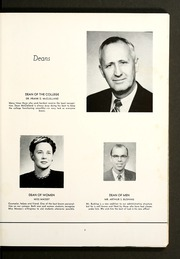 Page 13, 1958 Edition, Maryville College - Chilhowean Yearbook (Maryville, TN) online yearbook collection