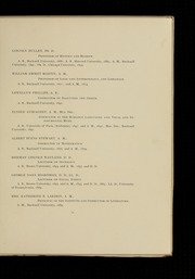 Page 15, 1896 Edition, Bucknell University - L Agenda Yearbook (Lewisburg, PA) online yearbook collection