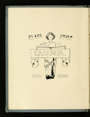 Page 8, 1902 Edition, Bucknell University - L Agenda Yearbook (Lewisburg, PA) online yearbook collection
