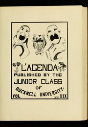 Page 5, 1912 Edition, Bucknell University - L Agenda Yearbook (Lewisburg, PA) online yearbook collection