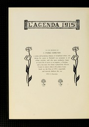 Page 8, 1915 Edition, Bucknell University - L Agenda Yearbook (Lewisburg, PA) online yearbook collection
