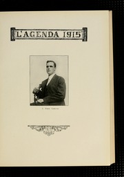 Page 9, 1915 Edition, Bucknell University - L Agenda Yearbook (Lewisburg, PA) online yearbook collection