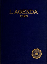Page 1, 1920 Edition, Bucknell University - L Agenda Yearbook (Lewisburg, PA) online yearbook collection