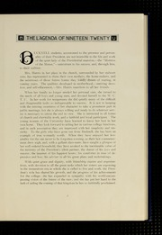 Page 11, 1920 Edition, Bucknell University - L Agenda Yearbook (Lewisburg, PA) online yearbook collection