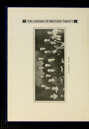 Page 12, 1920 Edition, Bucknell University - L Agenda Yearbook (Lewisburg, PA) online yearbook collection
