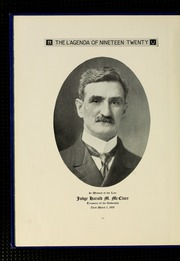 Page 14, 1920 Edition, Bucknell University - L Agenda Yearbook (Lewisburg, PA) online yearbook collection