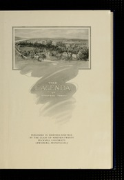 Page 5, 1920 Edition, Bucknell University - L Agenda Yearbook (Lewisburg, PA) online yearbook collection