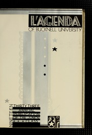 Page 7, 1933 Edition, Bucknell University - L Agenda Yearbook (Lewisburg, PA) online yearbook collection