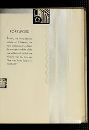 Page 9, 1933 Edition, Bucknell University - L Agenda Yearbook (Lewisburg, PA) online yearbook collection