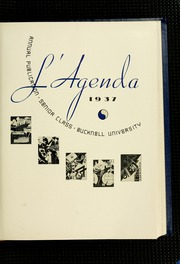 Page 7, 1937 Edition, Bucknell University - L Agenda Yearbook (Lewisburg, PA) online yearbook collection