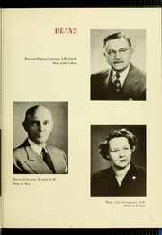Page 17, 1952 Edition, Bucknell University - L Agenda Yearbook (Lewisburg, PA) online yearbook collection