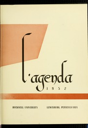 Page 7, 1952 Edition, Bucknell University - L Agenda Yearbook (Lewisburg, PA) online yearbook collection