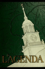 1953 Edition, Bucknell University - L Agenda Yearbook (Lewisburg, PA)