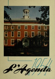 Page 1, 1954 Edition, Bucknell University - L Agenda Yearbook (Lewisburg, PA) online yearbook collection