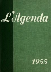 1955 Edition, Bucknell University - L Agenda Yearbook (Lewisburg, PA)
