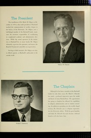 Page 15, 1956 Edition, Bucknell University - L Agenda Yearbook (Lewisburg, PA) online yearbook collection