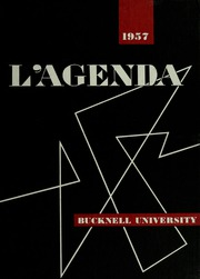 1957 Edition, Bucknell University - L Agenda Yearbook (Lewisburg, PA)