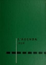 1959 Edition, Bucknell University - L Agenda Yearbook (Lewisburg, PA)